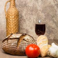 Leckerer Rotwein aus ökologischem Anbau