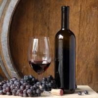 Kräftiger Rotwein