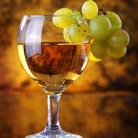 Aromatischer Traminer-Wein